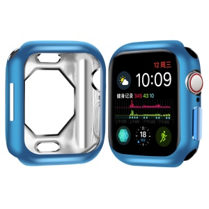 Monture De Protection En TPU Souple Pour Apple Watch Series 4 44mm - Bleu