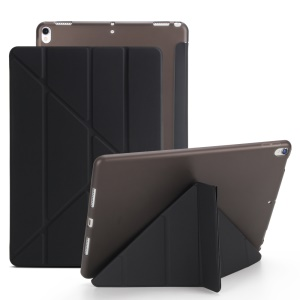 Origami Stand Leather Smart Case for iPad Air 10.5 (2019) / Pro 10.5-inch (2017) - Black
