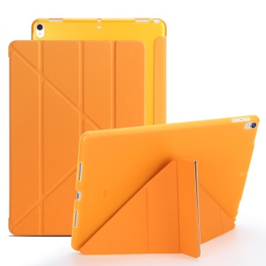 Origami Stand Leather Smart Case for iPad Air 10.5 (2019) / Pro 10.5-inch (2017) - Orange