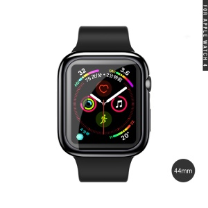 USAMS All-wrapped Chapeado Protetora TPU Para Apple Watch Series 4 44mm - Preto