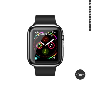 USAMS for Apple Watch Series 4 40mm All-wrapped Plated TPU Protector Cover - Transparent