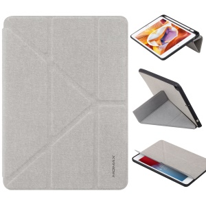 MOMAX Origami Stand Leather Smart Case for iPad mini (2019) 7.9 inch - Grey