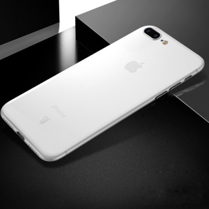 X-LEVEL Ultra-thin 0.4mm Matte PP Back Case for iPhone 8 Plus/7 Plus 5.5 inch - White