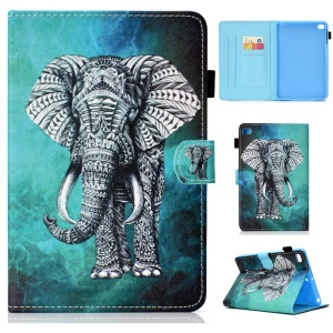 Smart Cover In Pelle Antiscivolo Per Smart Card Per IPad Mini (2019) 7,9 Pollici / Mini 4 / 3 / 2 / 1 - Elefante