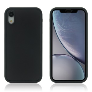 Daily Waterproof TPU Phone Case for iPhone XR 6.1 inch - Black