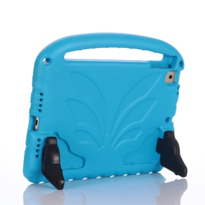For iPad 9.7-inch (2018)/9.7-inch (2017)/Pro 9.7 inch (2016)/iPad 6/iPad 5 Shockproof EVA Lotus Stand Tablet Case - Blue