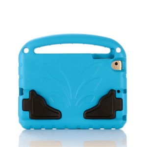 For iPad mini (2019) 7.9 inch / mini 4/3/2/1 Shockproof EVA Lotus Stand Tablet Case - Blue