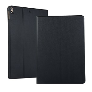 PU Leather Protection Smart Casing with Stand for iPad Air 10.5 inch (2019) - Black