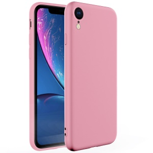 X-LEVEL Dynamic Series Upgraded Anti-Drop Silicone Phone Case for iPhone XR 6.1 inch - Pink