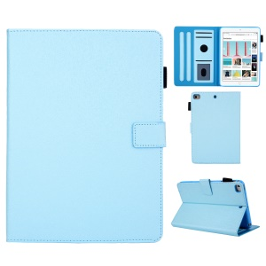Leather Case with Card Storage for iPad mini (2019) 7.9 inch / 4 / 3 / 2 / 1 - Baby Blue