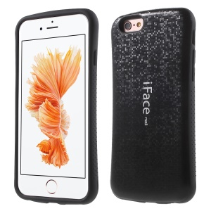 IFACE MALL Mosaic PC + TPU Hybrid Case for iPhone 6s Plus / 6 Plus - Black