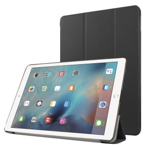 Tri-fold Stand Leather Tablet Cover Case for iPad Pro 9.7 inch - Black