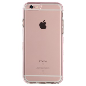 BENKS Incoming Call Flash TPU PC Phone Shell for iPhone 6s 6 - Rose