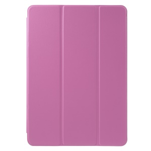 For iPad Air 2 Tri-fold Stand Smart Leather Case - Rose
