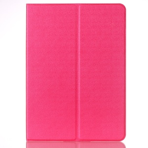 Sand-like Texture Stand Leather Smart Cover for iPad Pro 9.7 inch - Rose