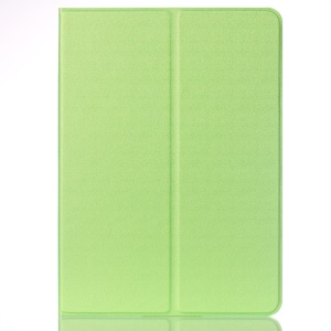Sand-like Texture Smart Leather Stand Case for iPad Pro 9.7 inch - Green
