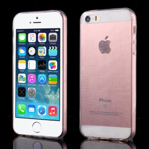 Ultra-thin Transparent TPU Protective Case Cover for iPhone SE/5s/5