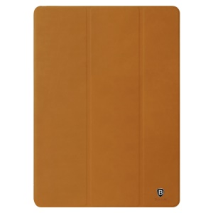 BASEUS for iPad Pro 9.7 Teser Series Tri-fold Stand Leather Smart Case - Brown
