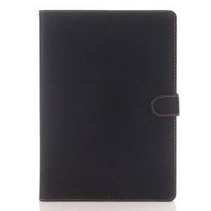 Retro Style Smart Leather Case for iPad Pro 9.7 inch - Black