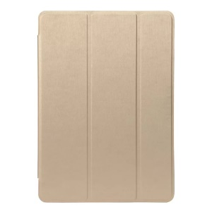 Tri-fold Smart Leather Stand Case Cover for iPad Pro 9.7 inch - Gold
