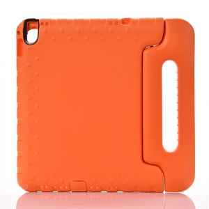 For iPad Pro 9.7 Shockproof Kids EVA Case with Handle Stand - Orange