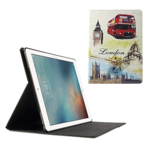 Stand Leather Case Cover for iPad Pro 9.7 Inch - London Elements