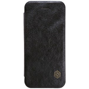 NILLKIN Qin Series Leather Phone Shell for iPhone SE/5s/5 - Black
