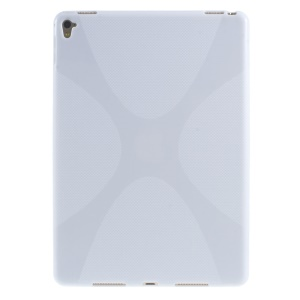 X-Shape Soft TPU Cover for iPad Pro 9.7 inch - White