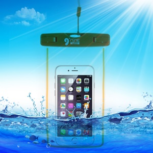 D9ELEMENT Universal 30M Waterproof Bag Case for iPhone 6s Plus / 6 Plus with Strap - Orange