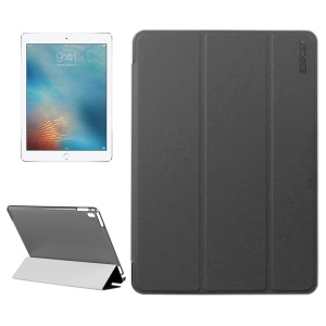 ENKAY Tri-fold Stand Leather Tablet Case for iPad Pro 9.7 inch - Black