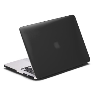 LENTION Sand Series Matte Hard Case for Macbook Pro 13.3 with Retina Display - Black