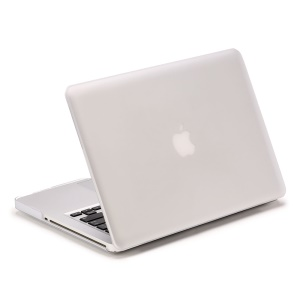 LENTION Serie de arena cubierta de la PC mate para Macbook Pro de 13,3 pulgadas - Blanco