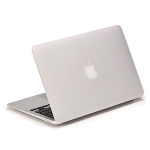LENTION Sand Series Matte Hard Cover for Macbook Air 13.3 inch - White