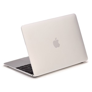 LENTION Sand Series Matte Hard Cover for Macbook 12 inch with Retina Display (2015) - White