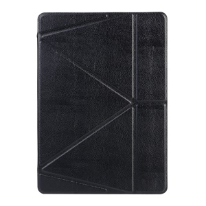 Origami Stand Smart Leather Flip Case for iPad Pro 9.7 - Black