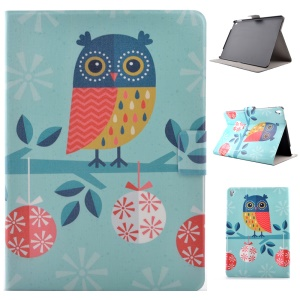 Card Holder Stand Leather Smart Cover for iPad Pro 9.7 inch - Adorable Owl