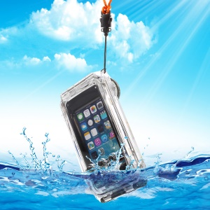 Super-tough IPX8 40m Waterproof Diving Case for iPhone SE 5s 5 - Black