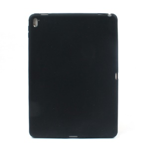 Soft Silicone Case with Home Button Protection for iPad Pro 9.7 inch - Black