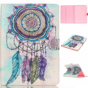 Leather Card Holder Case for iPad Pro 9.7 inch - Mandala Dream Catcher