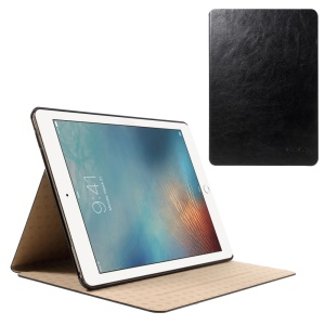 KAKUSIGA Slim Smart Leather Stand Case for iPad Pro 9.7 - Black