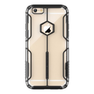 NILLKIN for iPhone 6s 6 Aegis Case Clear PC + SGS Certified TPU Hybrid Cover - Black