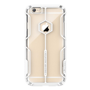 NILLKIN for iPhone 6s 6 Aegis Cover Clear PC + SGS Certified TPU Hybrid Case - White