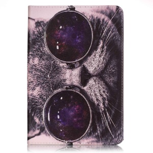 Pattern Printing Tablet Leather Protective Case for iPad mini 3/2/1 - Cool Cat