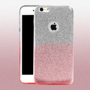 XINCUCO Flash Powder PC + TPU Cover for iPhone 6s 6 - Pink