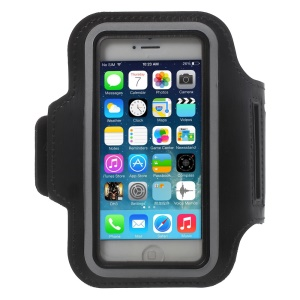 Running Jogging Sports Armband for iPhone SE/5s/5c/5 - Black