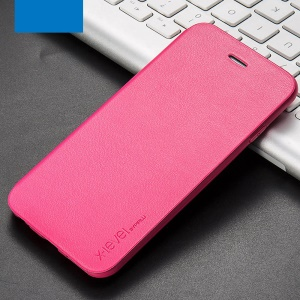 X-LEVEL FIB Color II Slim Flip Leather Case for iPhone 6s Plus/6 Plus - Rose