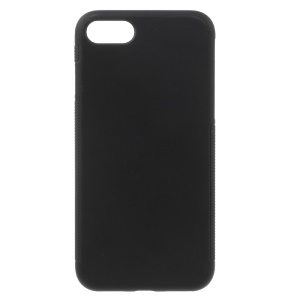 Slim Anti-skid TPU Gel Phone Back Case for iPhone 8 / 7 4.7 inch - Black