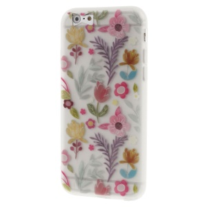 Patterned Flower Matte TPU Case for iPhone 6s/6 4.7-inch - Fresh Flowers
