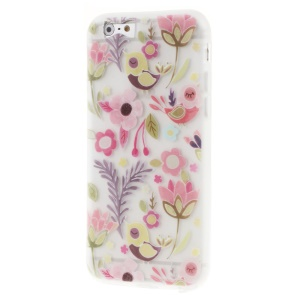 Patterned Flower Matte TPU Protector Case for iPhone 6s/6 4.7-inch - Multiple Flowers