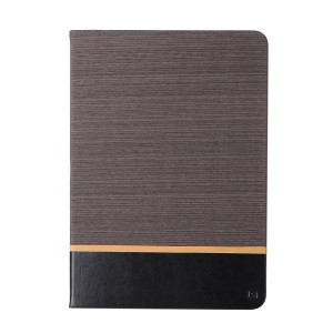 Assorted Color Linen Leather Smart Case Protector for iPad Pro 9.7 inch - Coffee